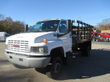2006 GMC C 4500 4WD 14' RACK BODY DUMP