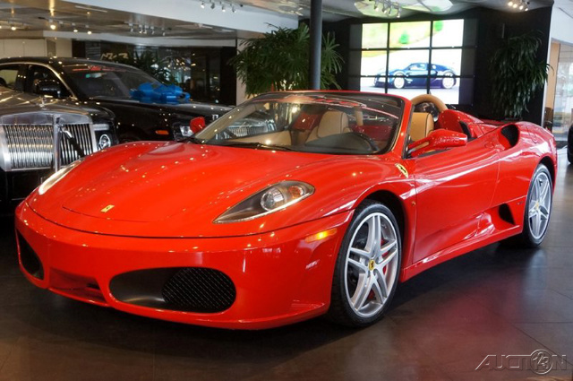 2008 Ferrari F430 Spider F1