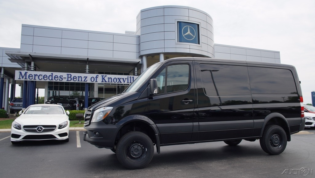 2017 mercedes benz sprinter sprinter 2500 cargo van 144 in for Mercedes benz sprinter 4x4 diesel