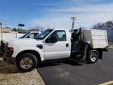 2008 Ford F-350 Chassis XL High Dump Sweeper Truck