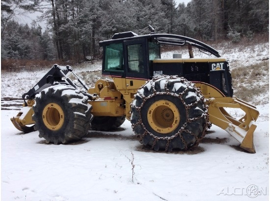 2002 Caterpillar 525B Wheel/Log Skidder - Vehicle Selling