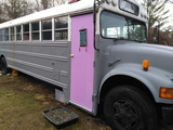 1993 International Converted School Bus Tiny House
