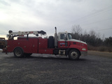 2005 Mack Vision CXN613 with Mounted 2007 IMT 6025