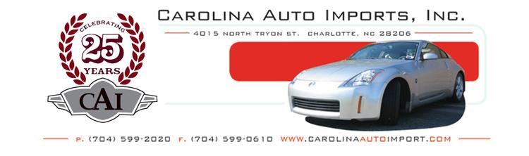 Carolina Auto Imports Inc.