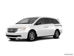 2013 Honda Odyssey EX-L with DVD VAN