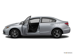 2015 Honda Civic SE with LEATHER Sedan