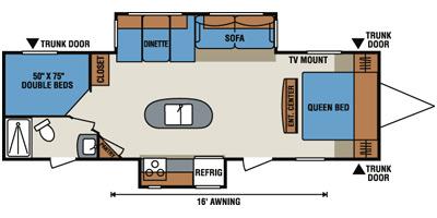2014 kz spree connect c290iks travel trailer island for Ram motors rio rancho