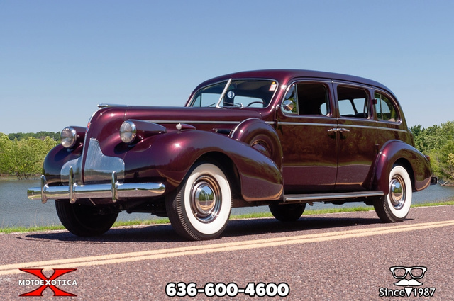 1939 Buick Limited 42