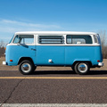 1973 Volkswagen Tin-Top Bus 2.0L flat four-cylinder
