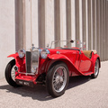 1947 MG TC Roadster 1.3L four-cylinder