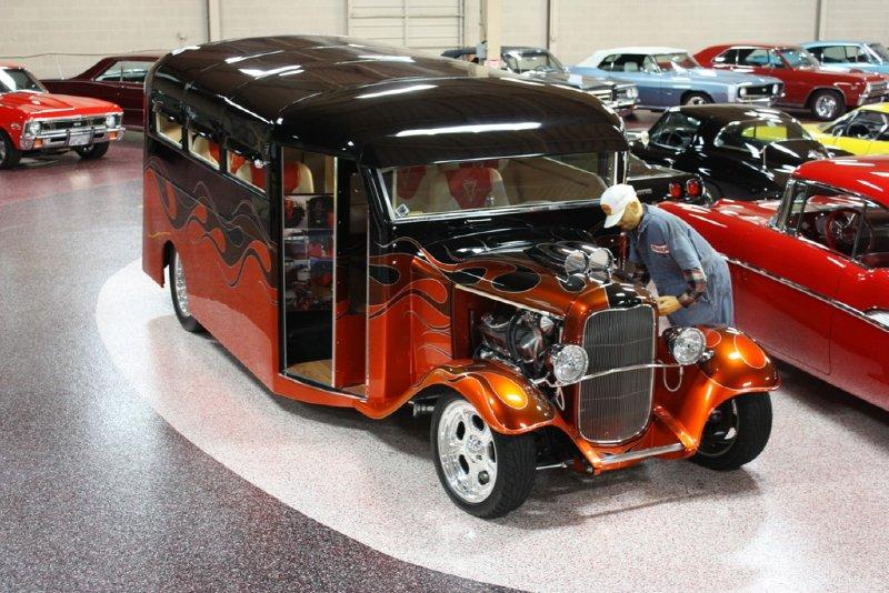 1932 Ford Hot Rod School Bus 32hotrodbus Overstreet