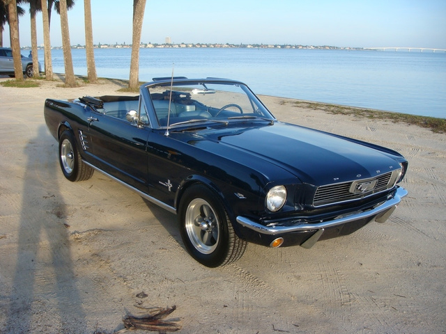 The 1966 Ford Mustang CONV photos
