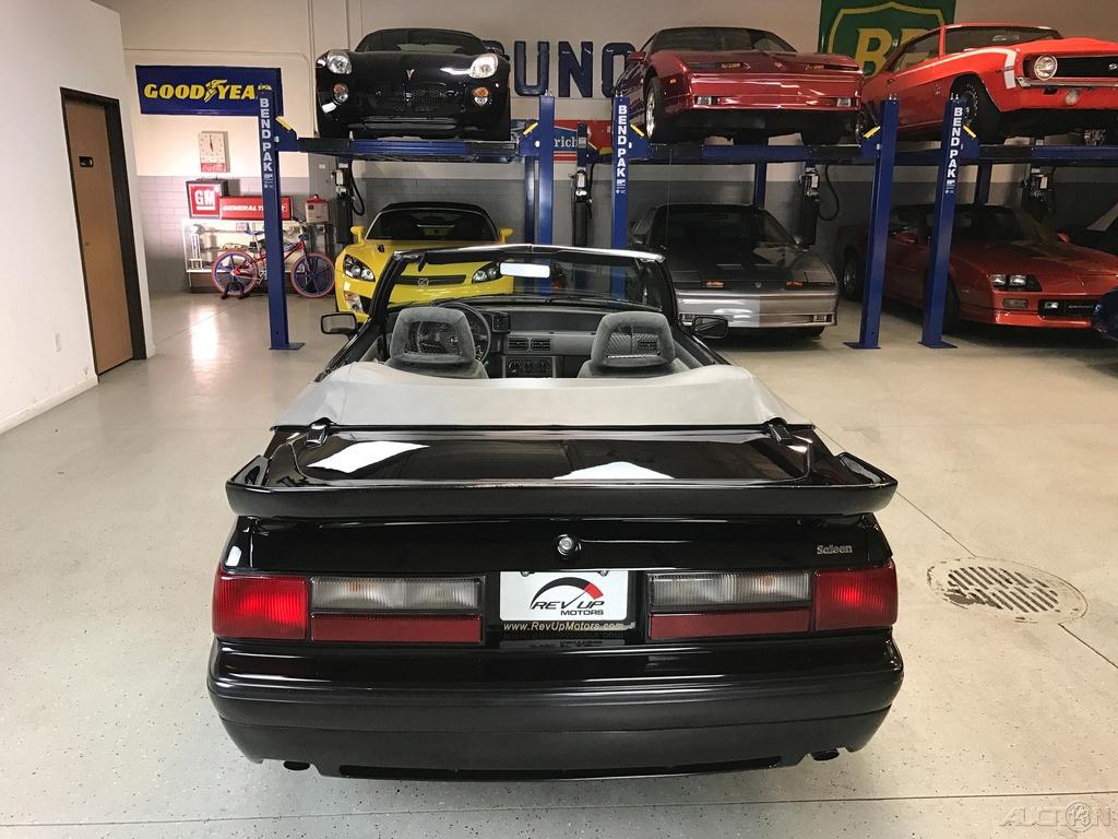1988 Ford Mustang LX Saleen: 1988 Ford Mustang LX SALEEN Convertible Very Rare Survivor With LOW MIles