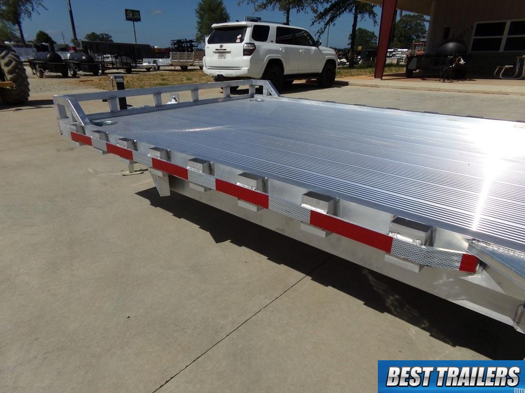 Bobcat Trailer Fenders : Aluma k new aluminum bobcat equipment flatbed
