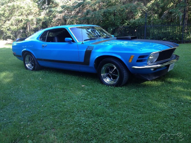 The 1970 Ford Mustang  photos