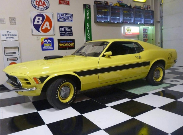 1970 Ford Mustang Sidewinder photo