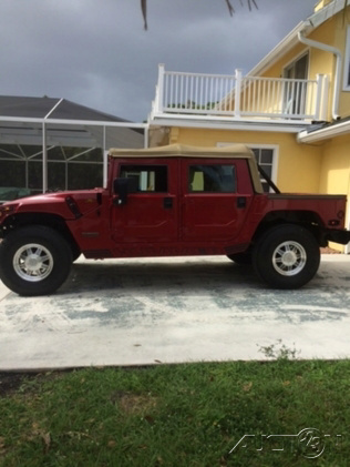 2001 HUMMER H1 Open Top photo