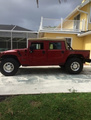 2001 HUMMER H1 Open Top SUV