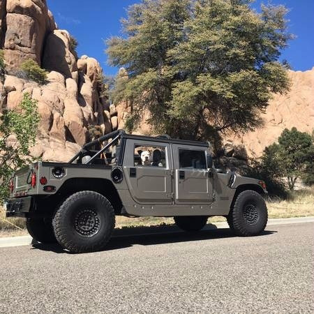 2000 AM General Hummer Convertible photo