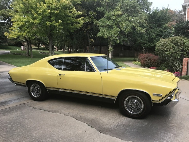 The 1968 Chevrolet Chevelle