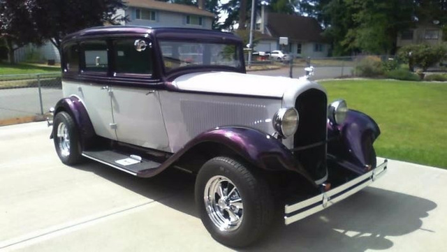 1932 Plymouth Pb 4 Door All Steel