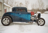 1932 Ford 3 Window 2 Door Chopped Coupe Hi-Boy