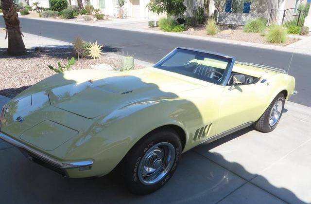 The 1968 Chevrolet Corvette Roadster