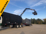 2007 Sterling lt9500 with 2017 Pitts Trailer Grapple Truck Mercedes-Benz  4067MT6E