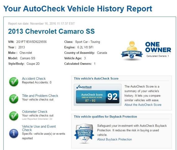 2013 Chevrolet Camaro SS photo