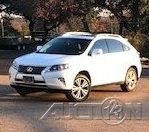 The 2014 Lexus RX 350 photos