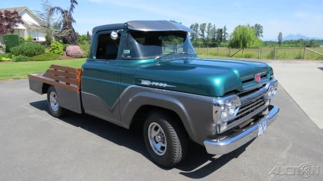 The 1960 Ford F-100  photos