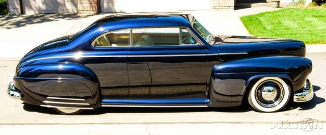 The 1941 Ford Coupe Radial Custom  photos