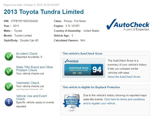 2013 Toyota Tundra Limited photo