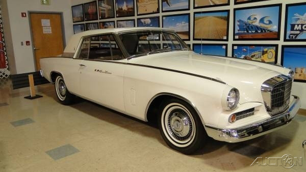 The 1963 Studebaker GT Hawk  photos