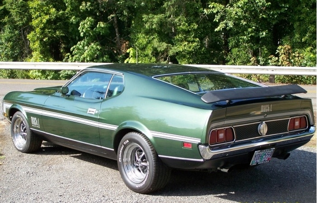 1971 Ford Mustang Mach 1 Fastback photo