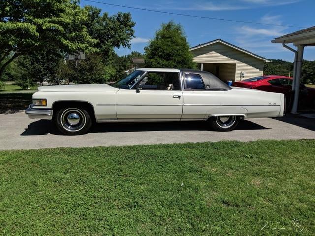The 1975 Cadillac DeVille  photos