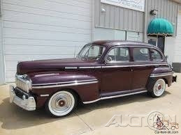 The 1947 Mercury Town Sedan  photos