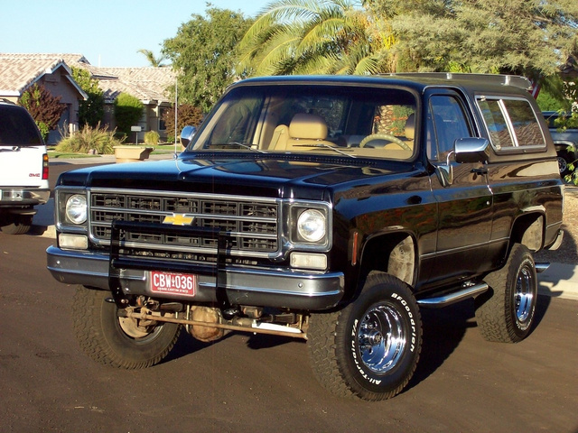 1977 Chevrolet Blazer  photo