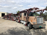 2007 Western Star 4900 With 2009 Cottrell C7510 10 Car Hauler Detroit Series 60