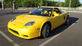 2003 Acura NSX-T 3.2L Open Top Coupe