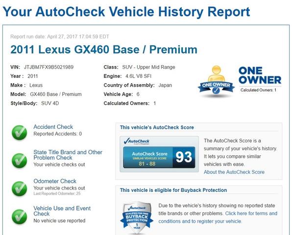 2011 Lexus GX 460 photo
