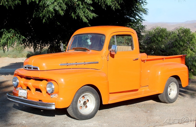 The 1951 Ford F1 PICKUP  photos