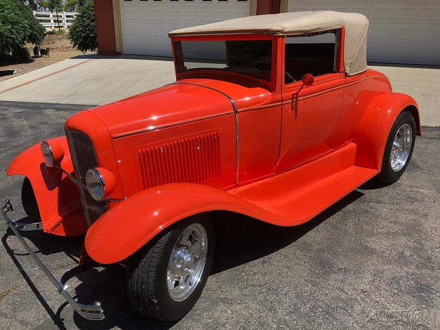 1930 Ford Model A Convertible photo
