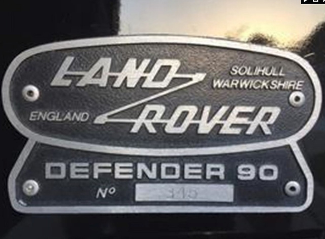 1994 Land Rover Defender 90 photo