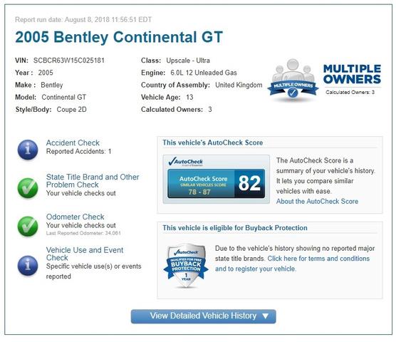 2005 Bentley Integra photo