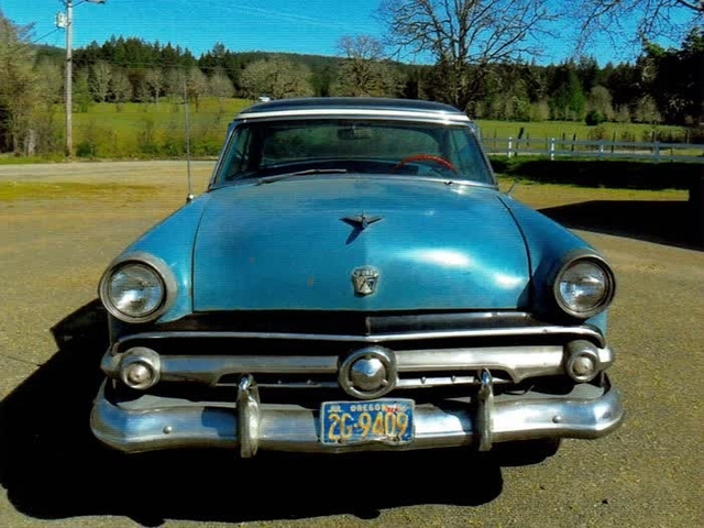 1954 Ford Skyliner Glasstop  photo