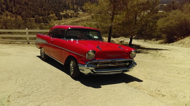 The 1957 Chevrolet Bel Air Sport