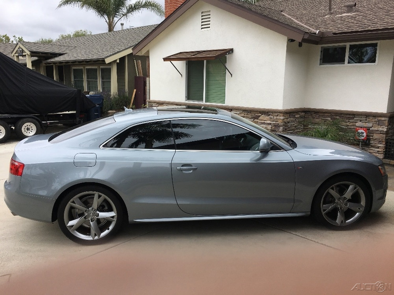 2009 Audi A5 S-Line Coupe WAUDK78T79A018132 - Vehicle