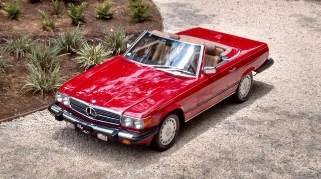 1986 Mercedes-Benz 560-Class 560SL