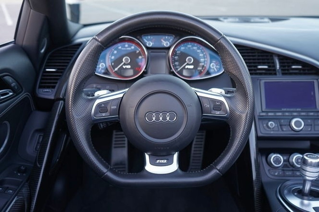 The 2011 Audi R8 5.2 quattro Spyder